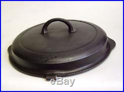 GRISWOLD 10 Cast Iron Dutch Hinged Skillet LID ONLY Small Block Logo Free Ship