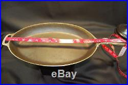 GRISWOLD #13 Cast Iron Oval Skillet P/N 1012 RARE