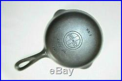 GRISWOLD 1939-1944 MATCHING STYLE CAST IRON SKILLET SET #3,4,5,6,7,8 (Ex. Cond.)