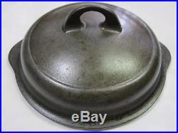 GRISWOLD #4 1094 PLAIN TOP HIGH DOME CAST IRON SKILLET LID htf rare