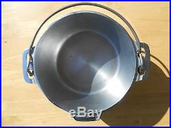 GRISWOLD #6 TITE-TOP DUTCH OVEN -Nickel Plated