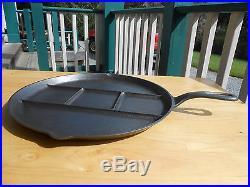GRISWOLD BREAKFAST SKILLET -Black Cast Iron
