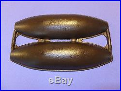 GRISWOLD CAST IRON No. 2 VIENNA ROLL BREAD PAN RARE