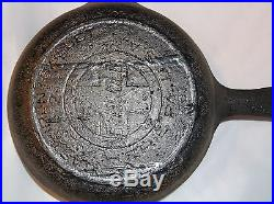 Griswold Cast Iron Skillet #2 Slant Letters Heat Ring