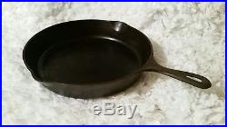GRISWOLD No. 10 SELF BASTING SKILLET COVER 470 LOW DOME LID ERIE PA AND SKILLET