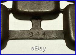 GRISWOLD Rare Antique Cast Iron 12-Well GEM MUFFIN PAN (#944) Erie, PA