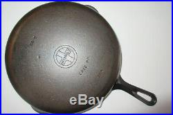 GRISWOLD VINTAGE MATCHING STYLE CAST IRON SKILLET SET #3,4,5,6,7,8 (Ex. Cond.)
