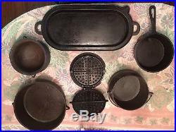 Gatemarked cast iron package deal-vintage