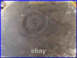 Genuine Le Creuset Cast Iron Orange 20cm Round Casserole Dish Pot. Size C