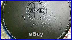 Gorgeous Griswold #14 Skillet Large Block Logo P/N #718 with Finish Marks