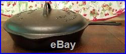 Griswold #10 SKILLET withLID Excellent Vintage Condition MY GRANDMA LOVED IT