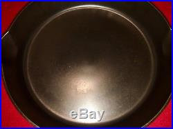 Griswold # 11 Cast Iron Skillet Block S/R