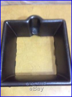 Griswold # 11 Square Waffle Iron Cast Iron