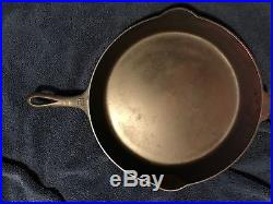 Griswold 12 Cast Iron Skillet And Lid