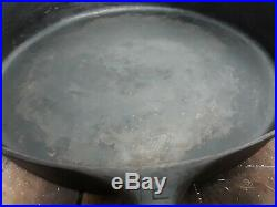 Griswold #12 Cast Iron Skillet Small Logo 719D Erie, PA