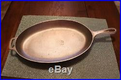 Griswold #13 / 1012 Cast Iron Oval (Fish) Skillet