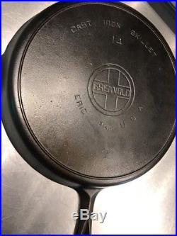Griswold 14 Cast Iron Skillet
