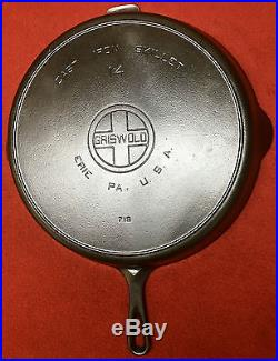 Griswold # 14 Cast Iron Skillet