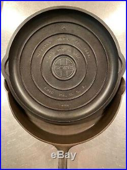 Griswold 14 Cast Iron Skillet With Cover