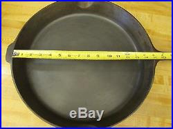 Griswold #14 Iron Skillet Erie PA w Heat Ring PN 718