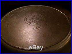 Griswold #14 Skillet with Heat Ring Large Block Logo Excellent