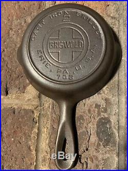 Griswold 2 Cast Iron Skillet Block Ring 703