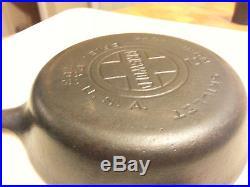 Griswold # 2 Skillet, Pan Number 703, Smooth Bottom, Large Block Logo, EPU