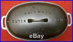 Griswold # 3 Cast Iron Oval Roaster