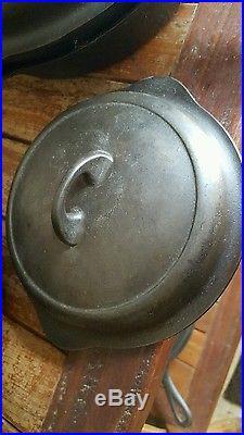 Griswold 4 skillet lid cast iron 1094