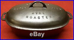 Griswold # 5 Cast Iron Oval Roaster