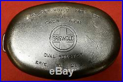 Griswold # 7 Cast Iron Oval Roaster