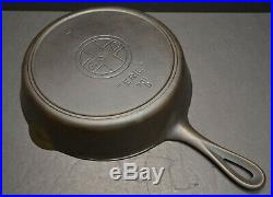 Griswold 701 # 7 Slant Logo ERIE Cast Iron Skillet Cleaned and Seasoned