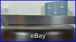 Griswold # 8 Deep Slant Logo EPU Heat Ring Cast Iron Skillet Erie PA PN 732