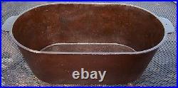 Griswold #8 HAM BOILER/ROASTER Slanted Big Logo P/N 2363 1915-1925 Era