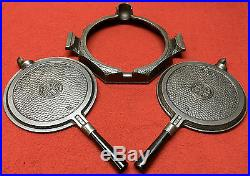 Griswold # 8 Hammered Cast iron Waffle Iron