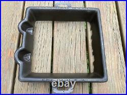 Griswold Cast Iron #12 Hotel Waffle Iron Large Logo 366 367 990 Rare