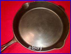 Griswold Cast Iron # 13 Skillet Large Block Logo with Smoke Ring