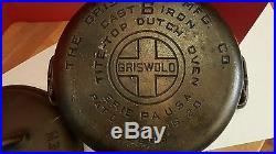Griswold Cast Iron #6 Dutch Oven