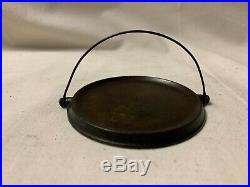 Griswold Cast Iron Award Griddle -World's Fair Bail Handle ERIE USA