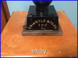Griswold Cast Iron Coffee Grinder Erie