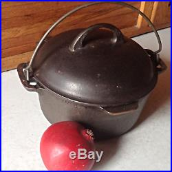 Griswold / Cast Iron / Dutch Oven & Trivet / #6 / Great Condition