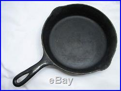 Griswold Cast Iron Frying Pans 3,4,5,6,8,9 Cookware Fry Skillet Lot Lg & Sm Logo
