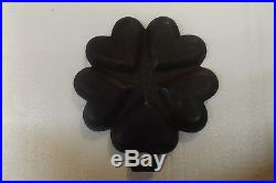 Griswold Cast Iron Heart Star Pan