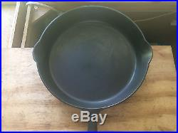 Griswold Cast Iron Large Block Logo With Heat Ring Skillet set #3-#12