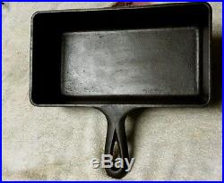 Griswold Cast Iron Loaf Pan Very Rare # 877