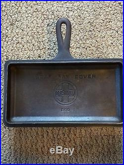 Griswold Cast Iron Loaf Pan with Cover