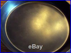 Griswold Cast Iron NO 13 Slant Erie Pa USA Large Rare Skillet OUTSTANDING shape