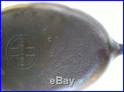 Griswold Cast Iron No 15 Oval Skillet 1013c With Lid Erie Pa Fryer
