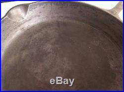 Griswold Cast Iron Skillet 12 USA