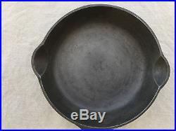 Griswold Cast Iron Skillet, #2 Large Logo with Heat Ring